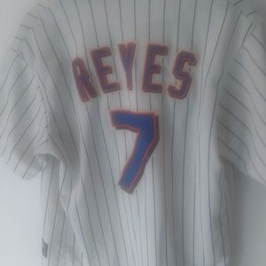 Mets Reyes 100% authentic Majestic